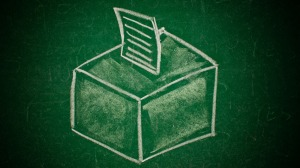 green-ballot-box
